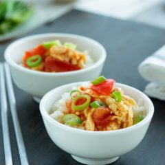 The 5 minute heart-warming Tomato and egg stir-fry