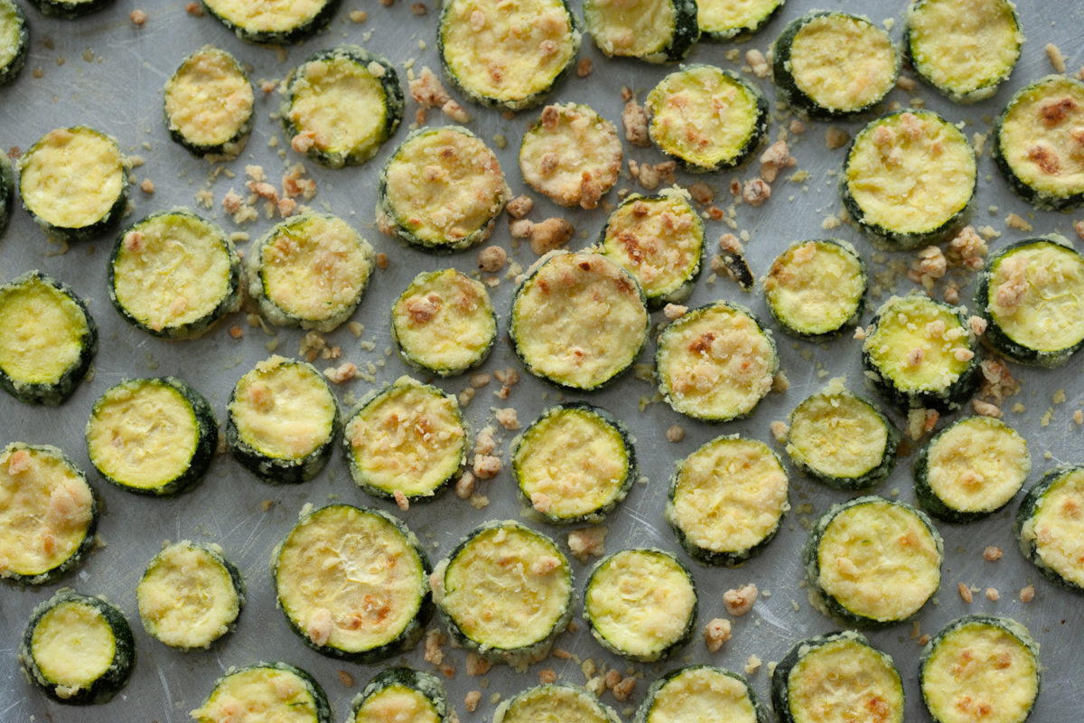 Roasted Zucchini Chips
