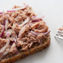 DIY tuna sandwich filling