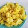 Cauliflower Stir-fry with Turmeric and garlic
