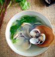 Clear clam soup 哈喇汤
