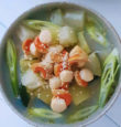 Winter melon, scallop and Kombu soup