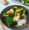 Broccoli and Shrimp Stir-fry