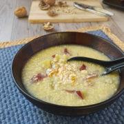 sweet potato and millet porridge